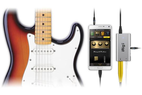 IK Multimedia iRig UA Digital Guitar Bass Interface for Android