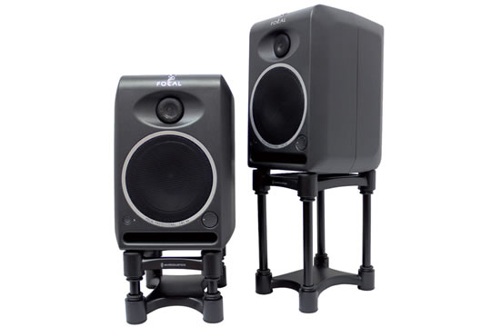 IsoAcoustics ISO-L8R155 Adjustable Desktop Studio Monitor Stands