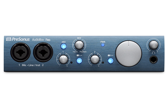 PreSonus AUDIOBOX iTwo USB iPad Audio MIDI Interface
