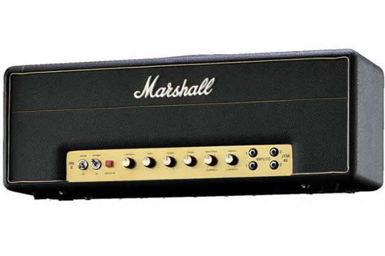 marshall jtm45 2245 30 watt guitar amp head hr. Black Bedroom Furniture Sets. Home Design Ideas