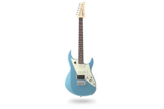 Line 6 JTV-69 Electric Guitar - Lake Placid Blue
