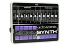 Electro-Harmonix MICROSYNTH Analog Guitar Effects Pedal