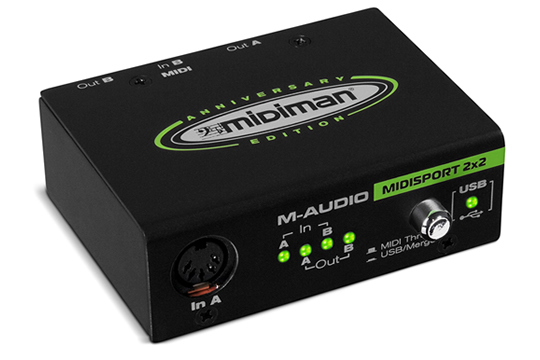 M-Audio MIDISPORT 2x2 Anniversary Edition MIDI Interface