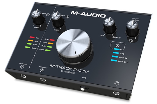 M-Audio M-Track 2x2M USB Audio MIDI Interface