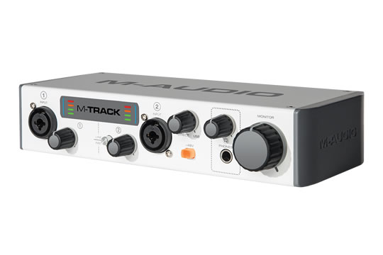 M-Audio M-Track MKII USB Audio Interface