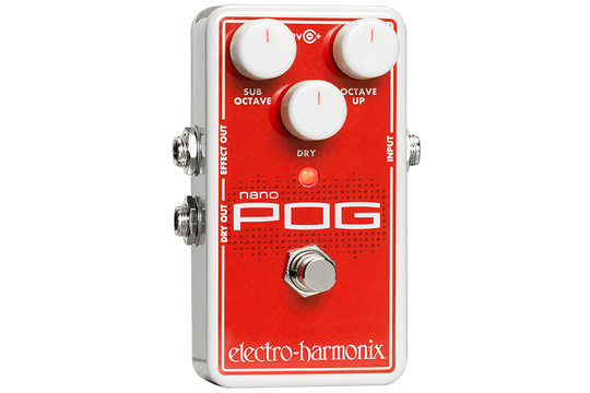 Electro-Harmonix Nano POG Compact Octave Effects Pedal