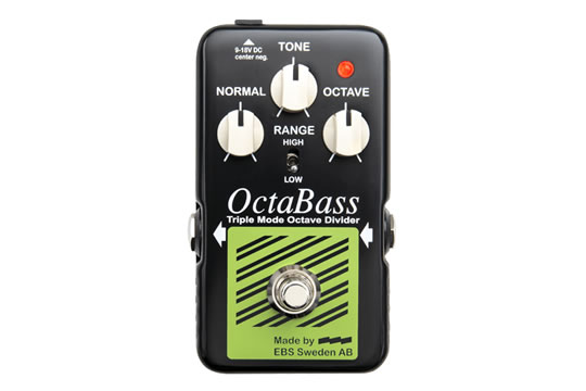 EBS OctaBass Blue Label Octave Divider Effects Pedal