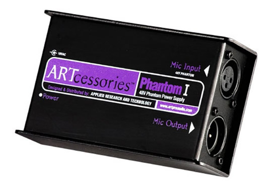 ART PHANTOM 1 48V Phantom Power Supply