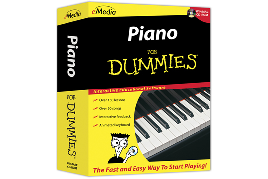 Emedia Piano For Dummies Lessons Instructional Tutorial