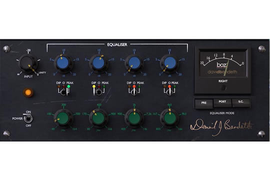 Boz Digital +10dB Equalizer Plugin (DOWNLOAD)