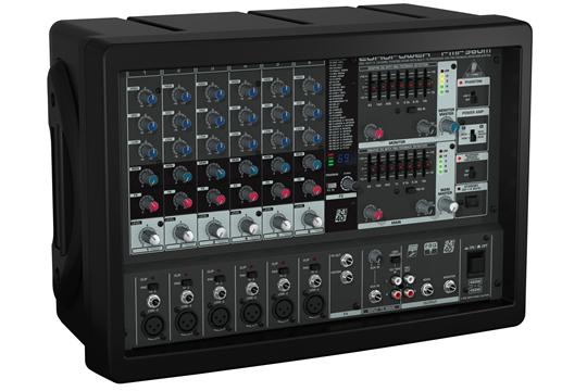 behringer pmp960m europower 900 watt 6 channel powered mixer hr. Black Bedroom Furniture Sets. Home Design Ideas