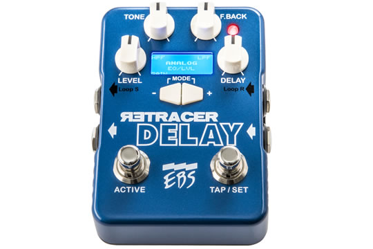 EBS Retracer Delay Effects Pedal