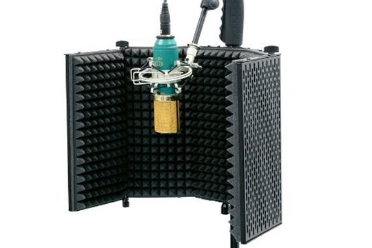 MXL RF-100 Portable Vocal Booth Reflection Filter