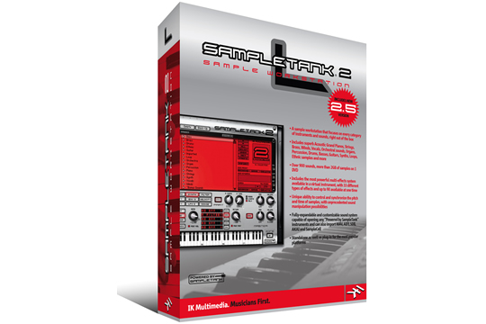 IK Multimedia SampleTank 2 L Sampler Software Workstation