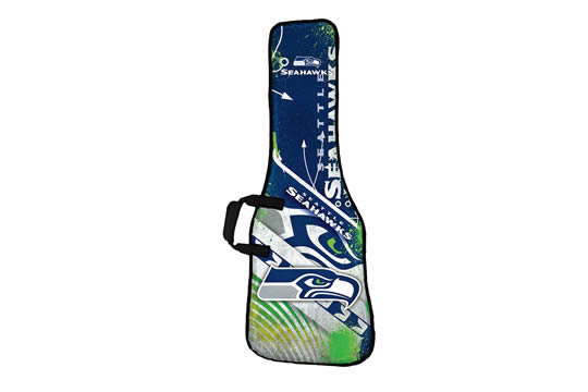 Woodrow Seattle Seahawks Electric Guitar Gig Bag