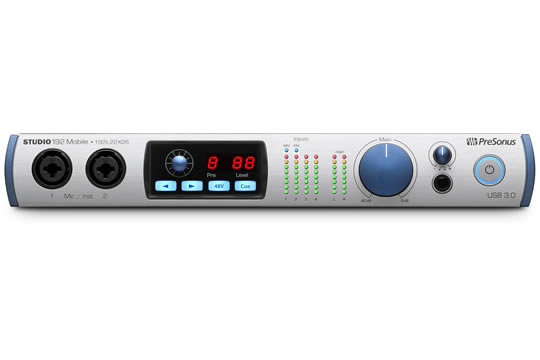 PreSonus Studio 192 MOBILE USB 3.0 Audio Interface