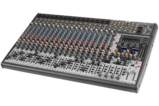behringer sx2442fx eurodesk 24 channel analog mixer hr. Black Bedroom Furniture Sets. Home Design Ideas