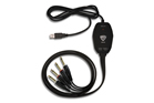 Nady UIC-80PP 2 1/4IN TS In/Out to USB Interface Cable 8FT