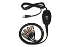 Nady UIC-81XX 2 XLR Balanced In/Out to USB Interface Cable 8FT