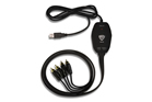 Nady UIC-82RR 2 RCA In/Out to USB Interface Cable 8FT