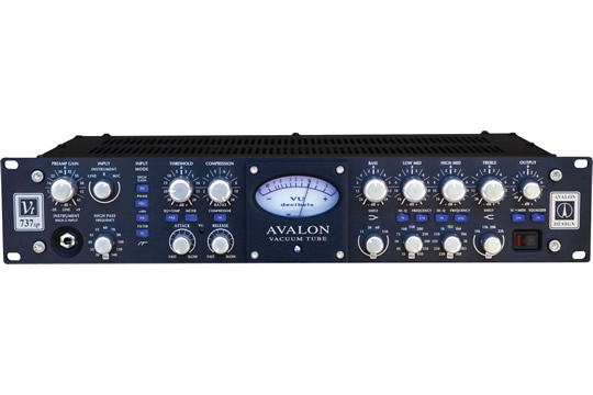 avalon vt 737sp anniversary edition class a microphone preamplifier hr. Black Bedroom Furniture Sets. Home Design Ideas