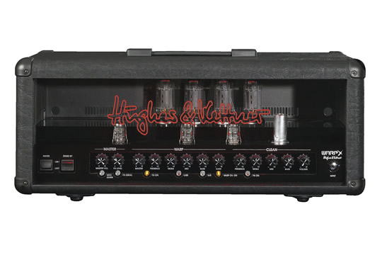 Hughes and Kettner WARP X 120W Guitar Amplifier Head (B)