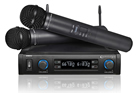 Technical Pro WM852 Dual Handheld UHF Wireless Microphone System